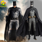 Justice League Batman Cosplay Costume Men Luxious Outfit For Halloween Any Size