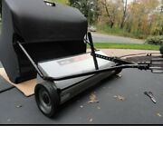 Ohio Steel Lawn Sweeper 42 Extra Wide Tow Behind Tractor Mower Atv Attachment