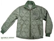 Usaf Quilted / Padded Cold Weather Jacket Parka Liner Us Army Air Force Jacket