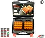 Wireless Led Orange Warning Lights Front Rear Battery Operated Usb Magnetic E9