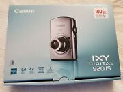 Canon Ixy 920 Is Powershot Sd 880 Is Digital Camera Silver