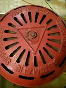 Vintage Cast Iron Grinnell Automatic Sprinkler Fire Alarm Bell