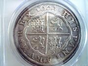 1660 Spain Phillip Iv 8 Reales 8r Rare Silver Coin