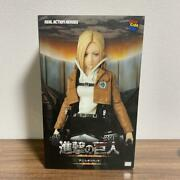 Attack On Titan Real Action Heroes Annie Leonhart Figure Medicom Toy Japan Rare
