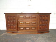 Mid Century Cabinet Chest Tv Console Cabinet Table Storage Bohemian Boho Chic