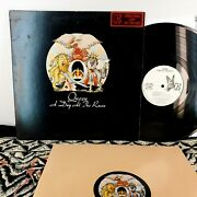 Queen A Day At The Races Original Wlp White Label Promo Dj Promotional Radio Lp