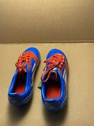 Adidas F50 Mens Us Size 6 Sprint Web Traxion Blue Red White Green Soccer Cleats