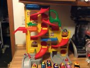 Fisher Price Little People Wheelies Stand And Play Rampway