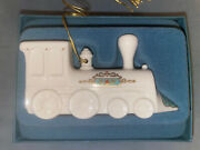 Lenox Locomotive Train Ornament Yuletide Express Collection With Box