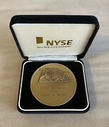 Rare Nyse Euronext Coin Commemorating Merger On April 4, 2007