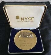 Rare Nyse Group Coin Commemorating Merger And Historic Transformation Of Exchange