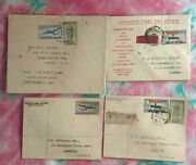 India Fdc 1947 - 58 First Day Covers Classic Lot 49 Diff And 2 Brochures