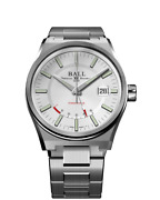 Authorized Dealer Ball Pm3030c-s-wh Roadmaster Icebreaker 40mm Limited Ed Watch