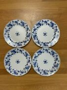 Fine China Of Japan Royal Meissen Dinner Plates Set Of Four