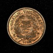 South Africa Orange Free State 1888 Pattern Proof 1 Penny