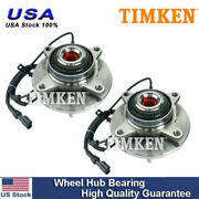 Timken Front Wheel Bearing And Hub Assembly Pair Lh And Rh For F150 Pickup Truck