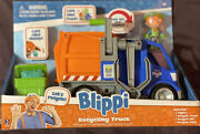 Blippi Talking Recycling Truck Garbage Recycle Vehicle New Release