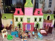 Fisher Price Loving Family Dream Dollhouse W/ Lights Music Sounds