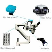 Dental Operating Microscope With Camera Rood Canal Therapy For Dental Chair Unit