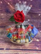 Gift Baskets Special Gift Set Of 13 Snacks Food Chocolate Women Mens Box Cookies