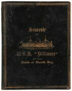 C A Silk / Spanish-american War 1898 The U.s.s Baltimore At The Battle 1st Ed