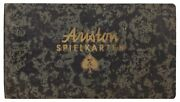 Playing Card Trade Catalog Cover Title Ariston Spielkarten / First Edition 1950
