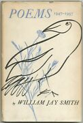 William Jay Smith / Poems 1947-1957 Signed 1st Edition