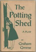 Graham Greene / The Potting Shed First Edition 1957