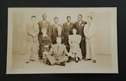 Mint Vintage 1949 Red Skelton And Gang Radio Show On Nbc Real Photo Postcard