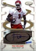 2007 Sage Hit Playmakers Gold Autographs Pa1 Paul Williams /100