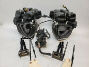 Harley-davidson Milwaukee 8 107ci Compleate Top End Heads Cylinders Rockers