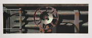Robert Cottingham Rolling Stock Series For Armyn Aquatint Etching Signed Nu