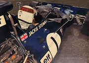 Ron Kleemann Jackie Stewart Screenprint Signed And Numbered In White Pencil