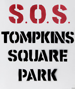 Red David Rodriguez S.o.s. Tompkins Square Park From Bullet Space Your House I