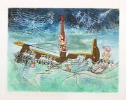 Roberto Matta, N'ou's From Hom'mere Ii, Etching With Aquatint, Signed And Number