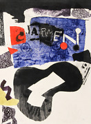 Antoni Clave Carmen Intaglio Etching With Aquatint Signed And Numbered In Pen