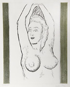 Man Ray, Sonia, Etching With Aquatint On Arches, Signed And Numbered In Pencil