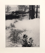 Peter Milton Under Greylock Intaglio Etching Signed And Numbered In Pencil