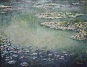 Michael Schreck, Homage To Monet, Acrylic On Canvas, Signed L.r.