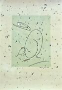 Max Ernst Oiseau Mere Spiess 223 Lithograph Signed In The Plate