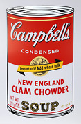Andy Warhol Campbelland039s Soup Ii New England Clam Chowder Screenprint Stamped
