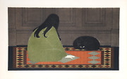 Will Barnet, Dialogue In Green, Lithograph On Arches, Signed And Numbered In Pen