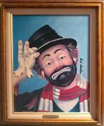 Red Skelton The Gent Print On Canvas Signed And Numbered In Ink
