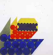 Richard Smith Untitled From The On The Bowery Portfolio Screenprint Signed An