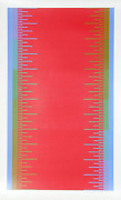 Richard Anuszkiewicz Olympics 1976 Screenprint Signed And Numbered In Pencil