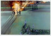 Robert Peak, Children Playing Jack Nicklaus, Lithograph, Signed And Numbered I