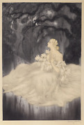 Louis Icart, Lillies, Giclee On Paper, Numbered In Pencil Verso With Printers St