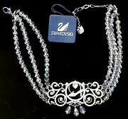 Signed Crystal Disney Cinderella Necklace In Pouch