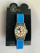 Disney Auctions Mickey Mouse Vintage 1950s Blue Watch Wristwatch Pin Le 100