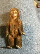 """Rare 5"""" Fully Jointed Schuco Monkey With Internal Cylindrical Perfume Bottle"""